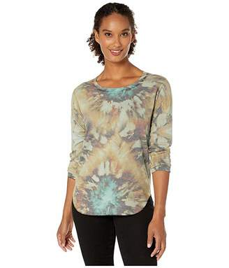 Nally & Millie Tie-Dye Long Sleeve Top