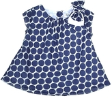 Malvi & Co. Navy Spot Top