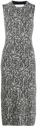 Proenza Schouler White Label Dot Jacquard Knit Dress