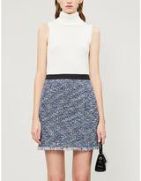 Claudie Pierlot Seasone tweed mini skirt