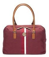 Tommy Hilfiger Women's Center Stripe Weekend Travel Tote