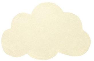 Lilipinso - Yellow Cotton Cloud Carpet - cotton   yellow - Yellow/Yellow