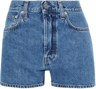 Helmut Lang Masc Hi Denim Shorts