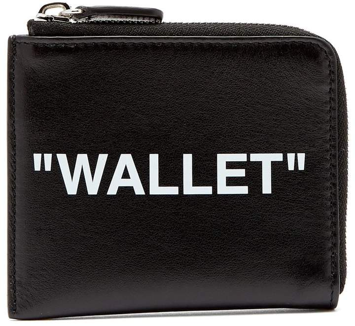 Off-White 'Wallet' leather cardholder
