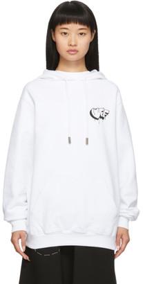 Off-White White Markers Regular Hoodie