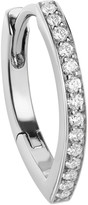 Repossi Antifer Pave Diamond Huggie Earring