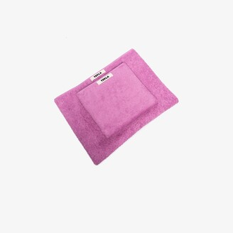 Tekla Pink Organic Cotton Towel Set