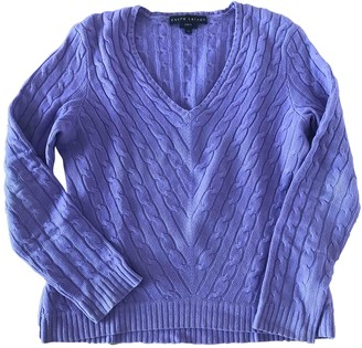 Ralph Lauren Purple Cashmere Knitwear for Women