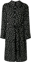 Dolce & Gabbana polka dot shirt dress - women - Polyester/Viscose - 50