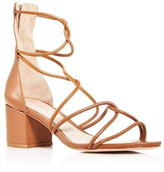 Schutz Women's Shayla Strappy Block-Heel Sandals