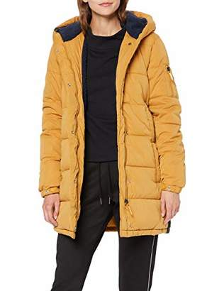 Superdry Women's Sphere Padded Ultimate Jacket, (Spectra Yellow Xx5), 12 (Size: Medium)