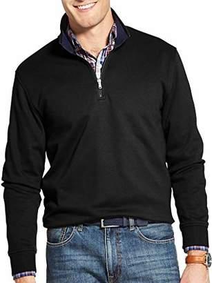 Izod Men's Advantage Performance Quarter Zip Fleece Pullover