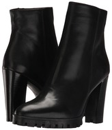 The Kooples Anne Boots - Classic Black Smooth Leather Women's Pull-on Boots
