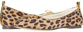 crewcuts by J.Crew Cat Leopard Ballet Flat (Toddler/Little Kid/Big Kid) (Tan/Black/Pecan) Girl's Shoes