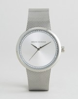 Armani Exchange AX4501 Watch In Silver