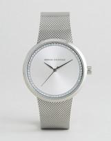 Armani Exchange Silver Liv Watch