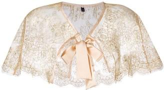 Gilda & Pearl 'Audrey' lace cape