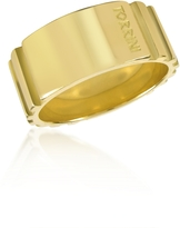 Torrini Stripes - 18k Yellow Gold Tall Band Ring