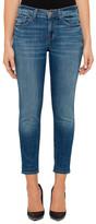 J Brand Sadey Mid Rise Slim Straight Fit Jean
