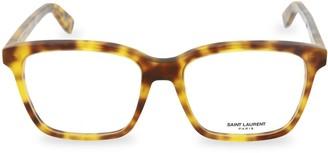 Saint Laurent 54MM Square Reading Glasses