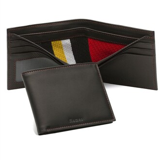 Tokens & Icons Calgary Flames Game-Used Uniform Wallet
