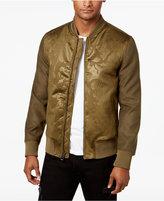 GUESS Men's Camo Print Bomber Jacket