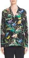 N°21 Women's N?21 Tropical Print Silk Pajama Blouse