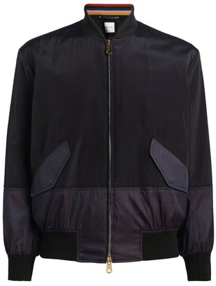 Paul Smith Contrast-Detail Bomber Jacket
