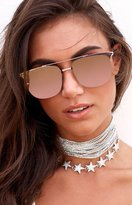 Quay Private Eyes Sunglasses Pink Rose