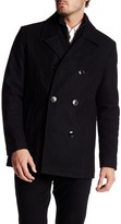 Kenneth Cole New York Double Breasted Peacoat