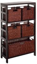 Bed Bath & Beyond Leo 3-Tier Shelf with 5 Wire Frame Baskets