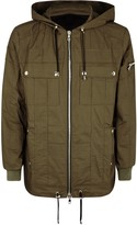 Balmain Army Green Cotton Jacket