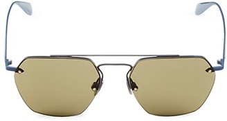 Rag & Bone 54MM Hexagonal Sunglasses