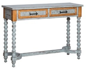 "Bungalow Rose Donegan 47.25"" Solid Wood Console Table"