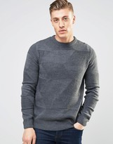 Bellfield Triangle Knitted Knitted Jumper