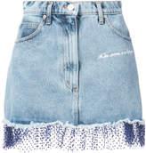 Natasha Zinko tule trim mini skirt