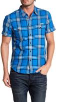 Lucky Brand San Gabriel Short Sleeve Regular Fit Shirt