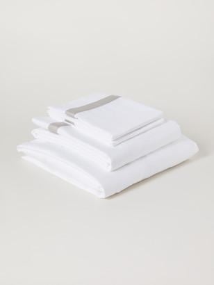 Boll & Branch Banded Organic Cotton Sheet Set