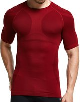 gkvk Mens Slimming Shirt Body Shaper Vest Abs Abdomen Slim