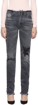 Unravel Black Vintage Chaos Jeans