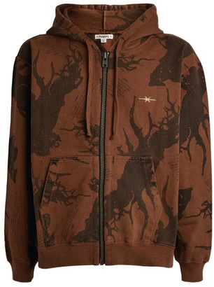 Phipps Zipped Forest Hoodie