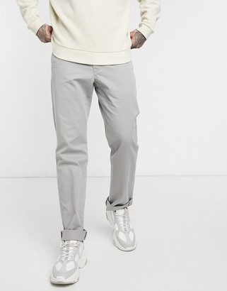 Polo Ralph Lauren flat front straight leg chinos in grey