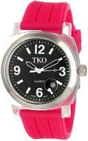 TKO ORLOGI Women's TK558-BF Milano Junior Acrylic Case Dial Watch