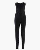 Veronica Beard Scuba Bustier Jumpsuit