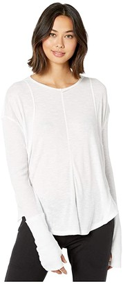 FP Movement Lay Up T-Shirt (White) Women's Workout
