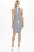 Torn By Ronny Kobo Yonal Thin Stripes Dress in Blue