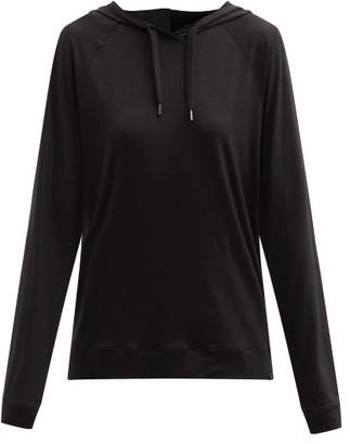 Derek Rose Basel 1 Modal-blend Hooded Sweatshirt - Black