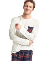 Gap + Pendleton long sleeve pocket tee