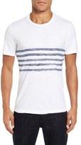 Velvet by Graham & Spencer Peter Stripe Print T-Shirt