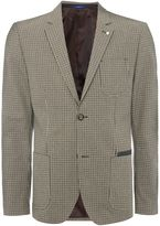 Peter Werth Men's Park Patch Pocket Check Cotton Blazer
